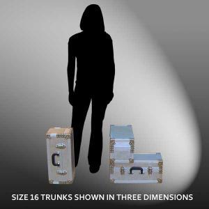 Size 16 - 24.2 LITRE - L50 x W22 x H22 cm