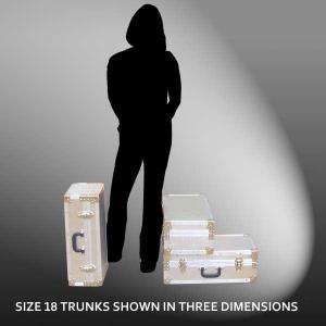 Size 18 - 33.1 LITRE - L57 x W29 x H20 cm