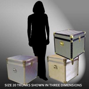 Size 20 - 118 LITRE -  L49 x W49 x H49 cm