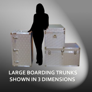 Large Boarding Trunks