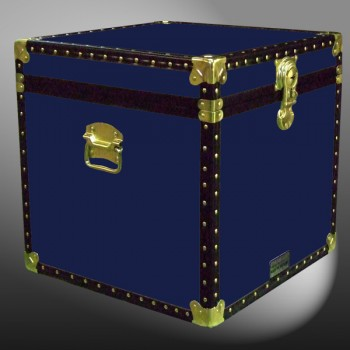 20-093 R NAVY Cube Storage Trunk with ABS Trim