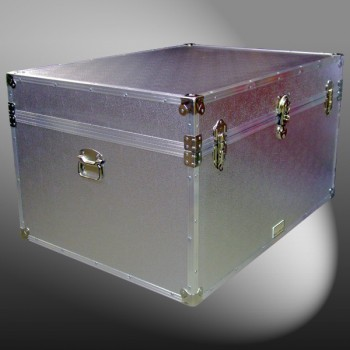 01-139 AE ALLOY Super Jumbo Storage Trunk with Alloy Trim