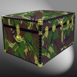 01-181 JC JUNGLE CAMO Super Jumbo Storage Trunk with ABS Trim