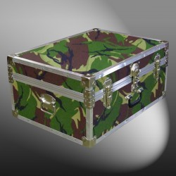 10-139 JCE JUNGLE CAMO 27 Cabin Storage Trunk with Alloy Trim
