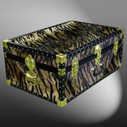 10-182 TI FAUX TIGER 27 Cabin Storage Trunk with ABS Trim