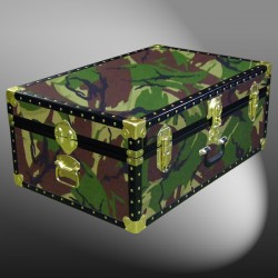 10-138 JC JUNGLE CAMO 27 Cabin Storage Trunk with ABS Trim