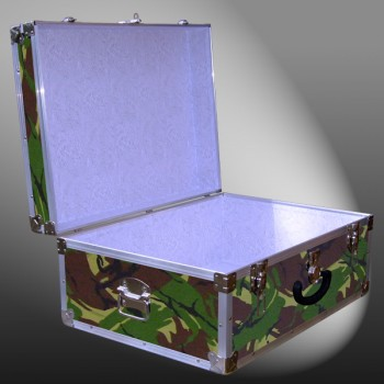 10-139 JCE JUNGLE CAMO 27 Cabin Storage Trunk with Alloy Trim