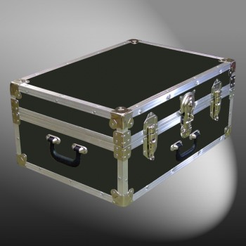 11-084 RE OLIVE 24 Storage Trunk Case with Alloy Trim