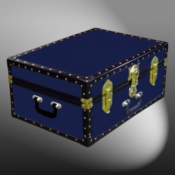 11-081 R NAVY 24 Storage Trunk Case with ABS Trim