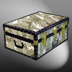 11-139 DS DESERT STORM CAMO 24 Storage Trunk Case with ABS Trim