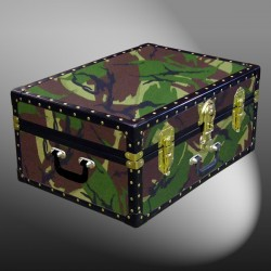 11-135 JC JUNGLE CAMO 24 Storage Trunk Case with ABS Trim