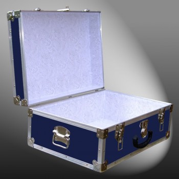 11-087 RE NAVY 24 Storage Trunk Case with Alloy Trim