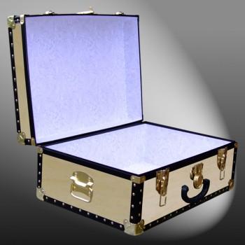 11-069 W WOOD 24 Storage Trunk Case with ABS Trim