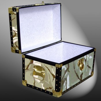 12-067 DS DESERT STORM CAMO Tuck Box Storage Trunk with ABS Trim