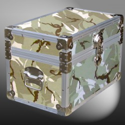 12-067.5 DSE DESERT STORM CAMO Tuck Box Storage Trunk with Alloy Trim