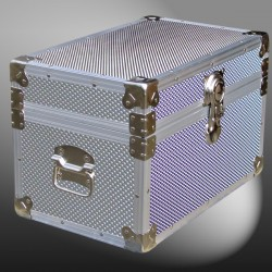12-110 EMBE EMBOSSED Tuck Box Storage Trunk with Alloy Trim
