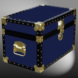 12-057.5 R NAVY Tuck Box Storage Trunk with ABS Trim