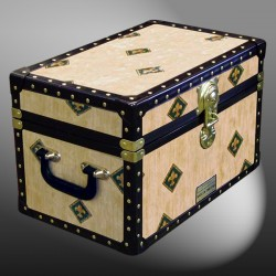 12-071.5 CI CREAM-IRIS Tuck Box Storage Trunk with ABS Trim