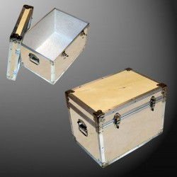 13-069 WE WOOD LP 150 Storage Trunk with Alloy Trim