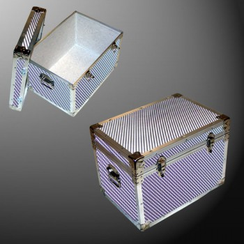 13-151 EMBE EMBOSSED LP 150 Storage Trunk with Alloy Trim