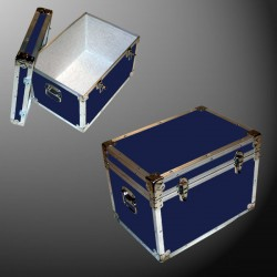 13-083 RE NAVY LP 150 Storage Trunk with Alloy Trim
