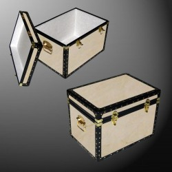 13-067 W WOOD LP 150 Storage Trunk with ABS Trim