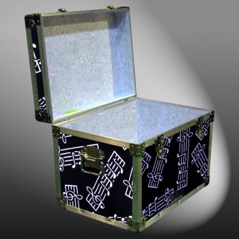 13A-122 MBE MUSIC BARS XL Tuck Box Storage Trunk with Alloy Trim