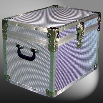 13A-153 EMBE EMBOSSED XL Tuck Box Storage Trunk with Alloy Trim