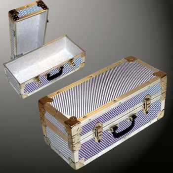 16-094 EMBE EMBOSSED Single 100 Storage Trunk with Alloy Trim