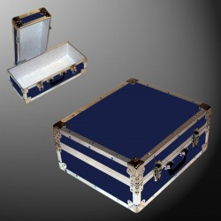 17-077 RE NAVY Single 200 Storage Trunk with Alloy Trim
