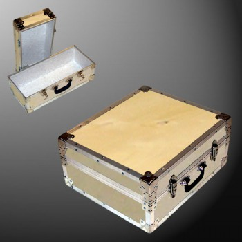 17-063 WE WOOD Single 200 Storage Trunk with Alloy Trim