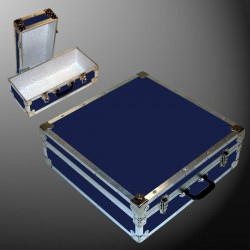 19-086 RE NAVY CD 200 Storage Trunk with Alloy Trim