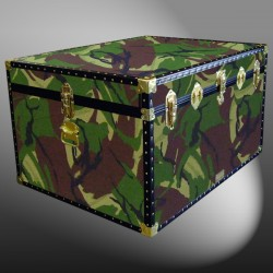 02-171 JC JUNGLE CAMO Jumbo Storage Trunk with ABS Trim