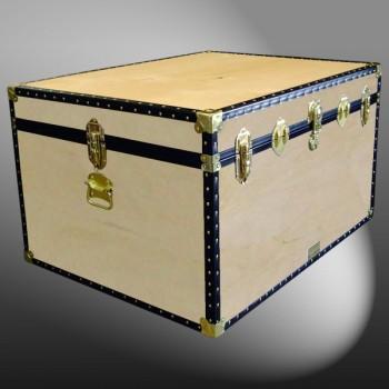 02-124 W WOOD Jumbo Storage Trunk with ABS Trim