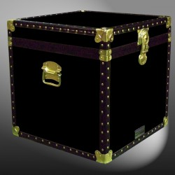20-094 R BLACK Cube Storage Trunk with ABS Trim