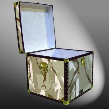20-146 DS DESERT STORM CAMO Cube Storage Trunk with ABS Trim