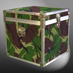 20-145 JCE JUNGLE CAMO Cube Storage Trunk with Alloy Trim