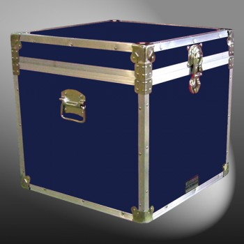 20-098 RE NAVY Cube Storage Trunk with Alloy Trim