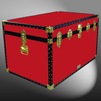 03-116 R RED King Storage Trunk with ABS Trim