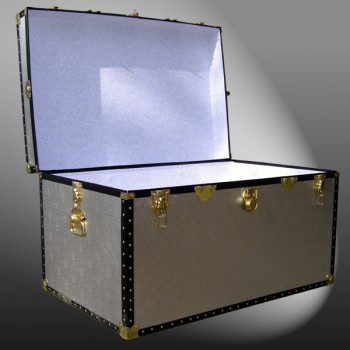 03-112 AS ALLOY King Storage Trunk with ABS Trim