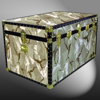 03-172 DS DESERT STORM CAMO King Storage Trunk with ABS Trim