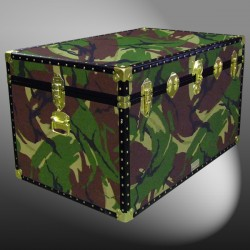 03-168 JC JUNGLE CAMO King Storage Trunk with ABS Trim