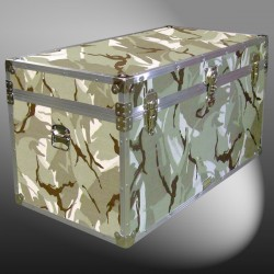 05-159 DSE DESERT STORM CAMO 36 Deep Storage Trunk with Alloy Trim