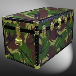 05-154 JC JUNGLE CAMO 36 Deep Storage Trunk with ABS Trim