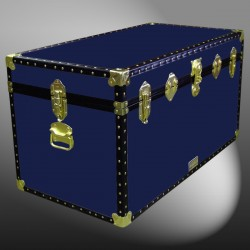 05-097 R NAVY 36 Deep Storage Trunk with ABS Trim