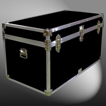 05-104 RE BLACK 36 Deep Storage Trunk with Alloy Trim