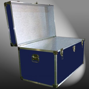 05-103 RE NAVY 36 Deep Storage Trunk with Alloy Trim