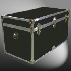 05-100 RE OLIVE 36 Deep Storage Trunk with Alloy Trim