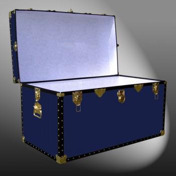 04-106 R NAVY 38 Deep Storage Trunk with ABS Trim
