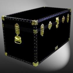 04-107 R BLACK 38 Deep Storage Trunk with ABS Trim